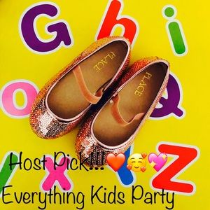 NEW!!! The Children's Place sequined shoes